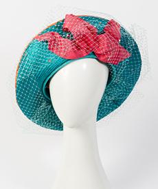 Designer hat Mia Grande Beret by Louise Macdonald Milliner (Melbourne, Australia)