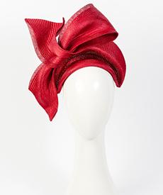 Designer hat Napoli by Louise Macdonald Milliner (Melbourne, Australia)