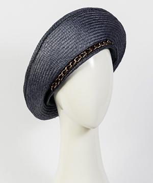 Designer hat Viola Beret by Louise Macdonald Milliner (Melbourne, Australia)