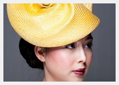 Louise Macdonald's exclusive millinery designs for Hugo Boss - 2013