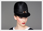 Louise Macdonald's exclusive millinery designs for Hugo Boss - 2014