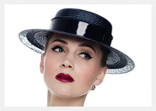 Louise Macdonald's exclusive millinery designs for Hugo Boss - 2015