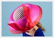 fashion hats and fascinators by Melbourne milliner Louise Macdonald - Spring 2018