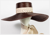 fashion hats and fascinators by Melbourne milliner Louise Macdonald - Spring 2019