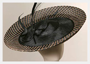 fashion hats and fascinators by Melbourne milliner Louise Macdonald - Spring 2006