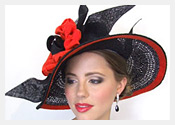 fashion hats and fascinators by Melbourne milliner Louise Macdonald - Spring 2010