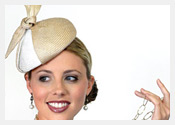 fashion hats and fascinators by Melbourne milliner Louise Macdonald - Spring 2011
