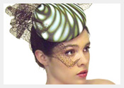 fashion hats and fascinators by Melbourne milliner Louise Macdonald - Spring 2012