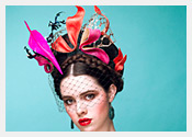fashion hats and fascinators by Melbourne milliner Louise Macdonald - Spring 2013