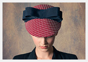 fashion hats and fascinators by Melbourne milliner Louise Macdonald - Spring 2014