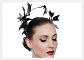 fashion hats and fascinators by Melbourne milliner Louise Macdonald - Spring 2015