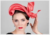 fashion hats and fascinators by Melbourne milliner Louise Macdonald - Spring 2017