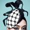 Louise Macdonald Milliner's 2013 collection for Hugo Boss Melbourne - Fashion hat Black and White LaFayette Beret