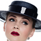 Louise Macdonald Milliner's 2015 collection for Hugo Boss Melbourne - Fashion hat Navy Boater