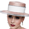 Louise Macdonald Milliner's 2015 collection for Hugo Boss Melbourne - Fashion hat Pink Boater