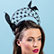 Louise Macdonald Milliner's 2018 collection for Hugo Boss Melbourne - Fashion hat Florence