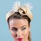 Louise Macdonald Milliner's 2018 collection for Hugo Boss Melbourne - Fashion hat Hazel