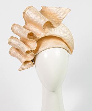Fashion hat Natural Josephine, a design by Melbourne milliner Louise Macdonald