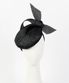 Louise Macdonald Milliner's 2019 collection for Hugo Boss (Melbourne, Australia) - designer hat Shermeen Beret