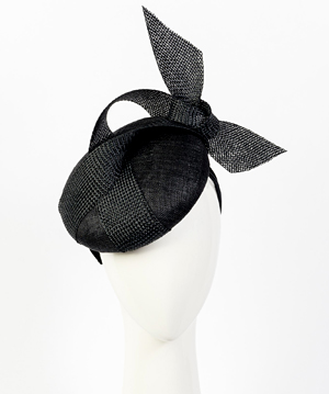 Fashion hat Shermeen Beret, a design by Melbourne milliner Louise Macdonald