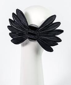 Louise Macdonald Milliner's 2019 collection for Hugo Boss (Melbourne, Australia) - designer hat Zoe Headpiece
