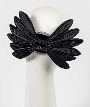 Fashion hat Zoe Headpiece, a design by Melbourne milliner Louise Macdonald