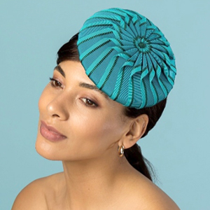 designer hat (ribbon beret) by Louise Macdonald Milliner (Melbourne, Australia)
