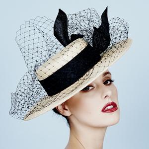 designer hat by Louise Macdonald Milliner (Melbourne, Australia)