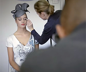 Louise Macdonald Milliner's 2013-2014 collection photo session in Melbourne