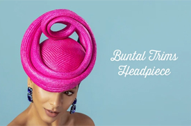 Melbourne milliner Louise Macdonald launches her fourth online millinery workshop, Buntal Trims Deluxe Course
