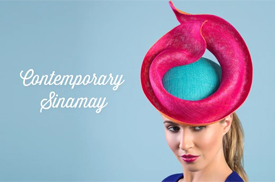 online course on sinamay by Louise Macdonald Milliner (Melbourne, Australia)