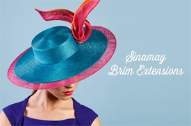 Melbourne milliner Louise Macdonald partnered with Hat Academy to launch the Sinamay Brim Extensions Deluxe Course