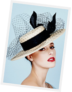 Millinery course at Louise Macdonald's studio in Melbourne: Thursday Millinery Class