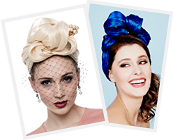 Millinery course at Louise Macdonald's studio in Melbourne: Silk Abaca Turbans