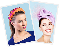 hats by Melbourne milliner Louise Macdonald