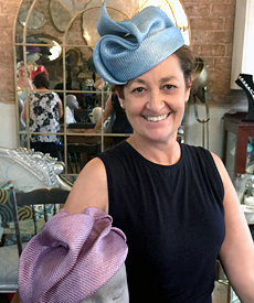 Beautiful results from the Freeform Parisisal millinery course taught by Louise Macdonald in Sydney (February 2018)