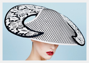 Louise Macdonald's exclusive millinery designs for Hugo Boss - 2016